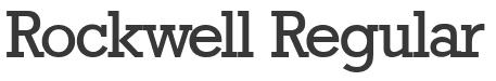 Rockwell Regular